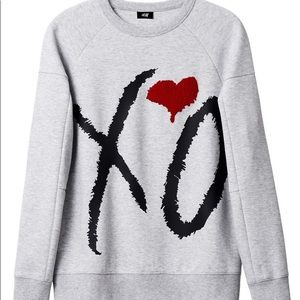 The Weeknd XO H&M Grey Pullover